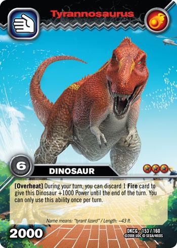 Dinosaur King Daspletosaurus Card | www.pixshark.com ...