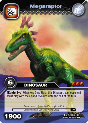 A New Dinosaur Is Highlighted For Kids To Discover And Collect From The Dinosaur King Tcg Whoever Controls Cards Dinosaurs
