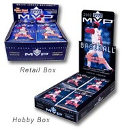 Different Boxes for a Card Series-Hobby and Retail