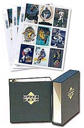 9 Card Sheets and Binder
